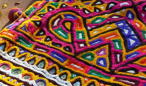 Kutch embroidery work