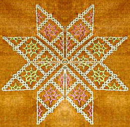 Kasuti Embroidery Work
