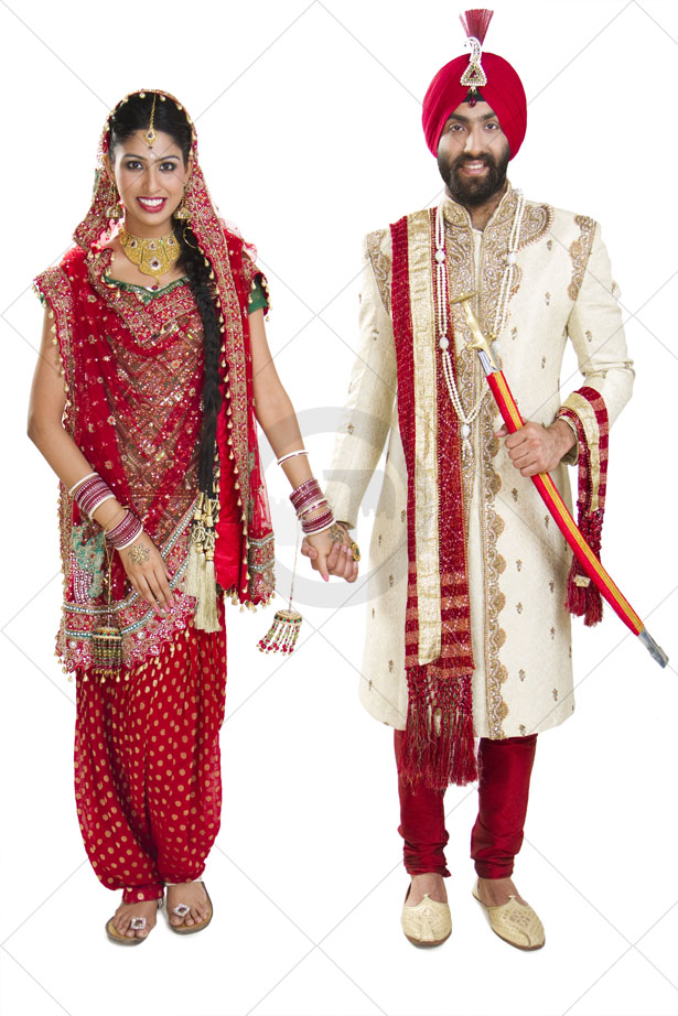 Punjabi Traditional Clothing The customs and traditions of weddings in ...