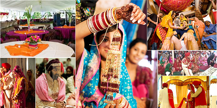 The customs and traditions of weddings in punjab utsavpedia