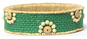 Jute Bracelet (Source: wowdazzle.blogspot.in)
