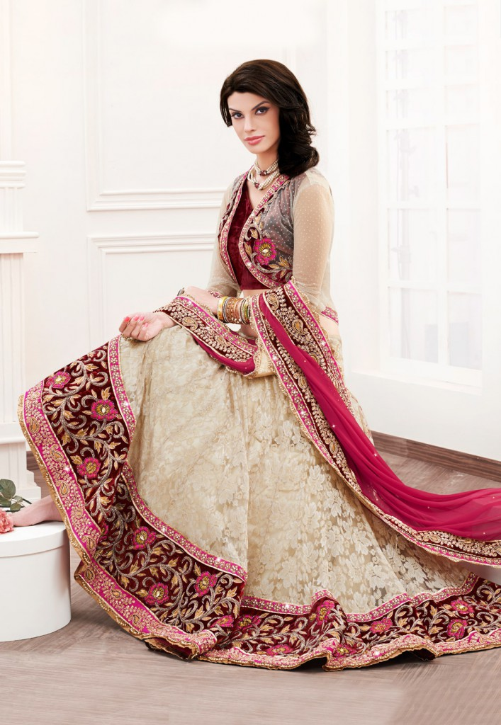 Indian lehenga choli its origin history and more for Sharara dress for wedding online shopping