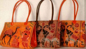 Shantinekatan Leather Bags