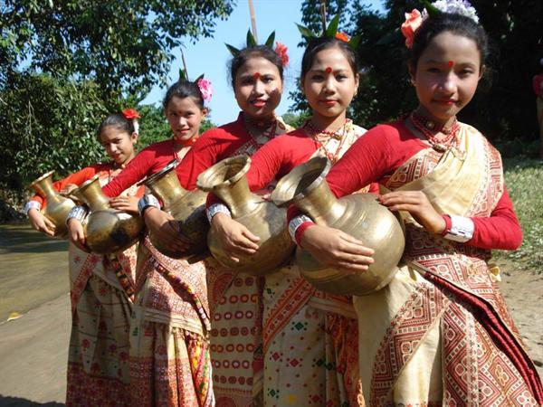 Traditional Assamese Attire