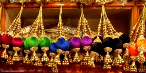 Tassels in blasting hues (Photographed By Komal Gupta)