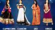 Cancer, Capricorn, Leo, Virgo