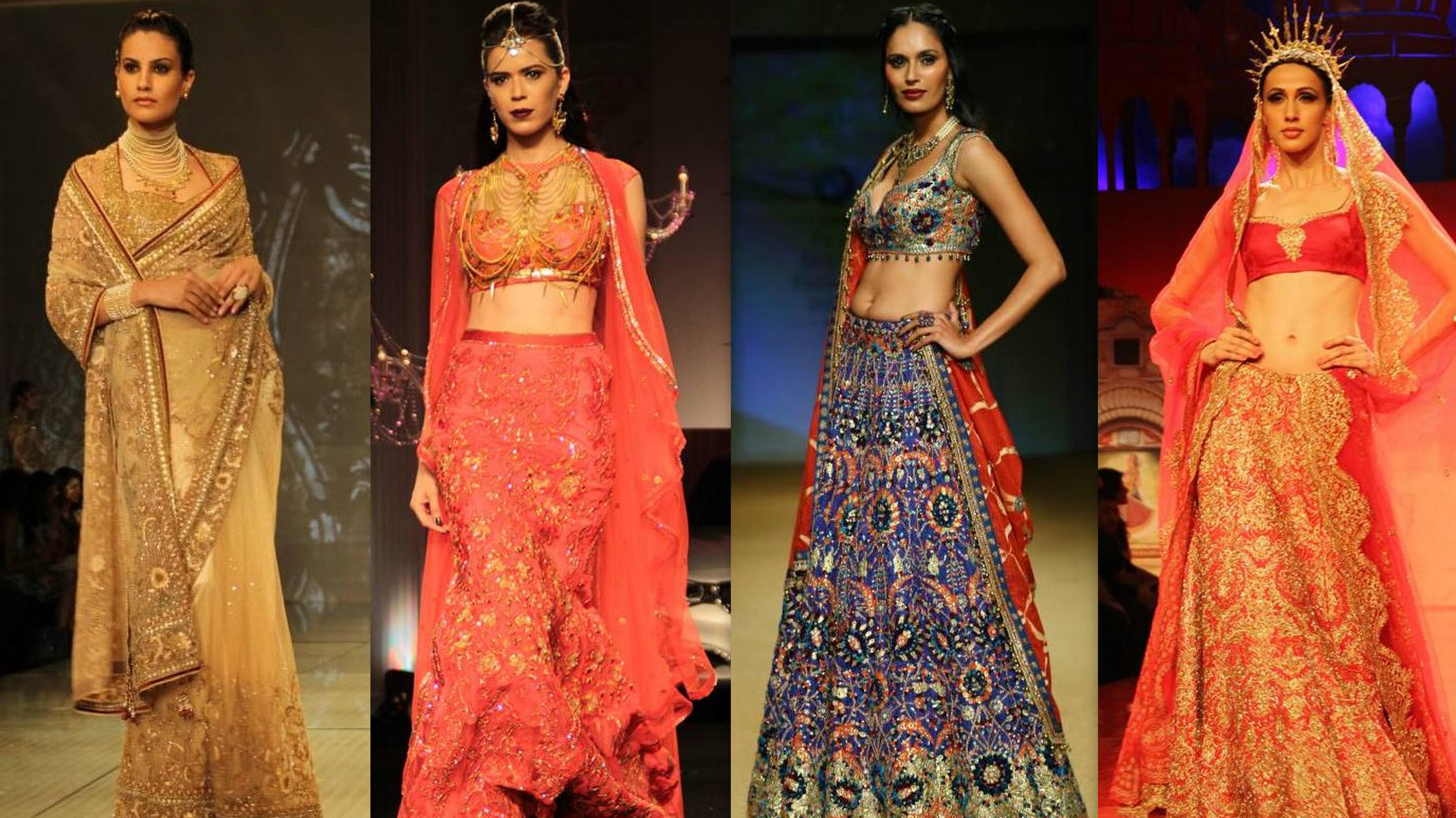 India Bridal Fashion Week'14 Digest