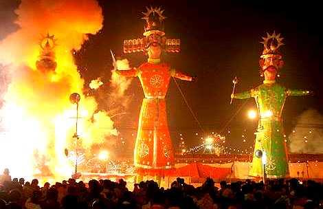 Dusshera – Hindu festivals in South-East Asia