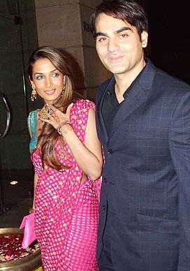 Malaika Arora and Arbaaz Khan Wedding