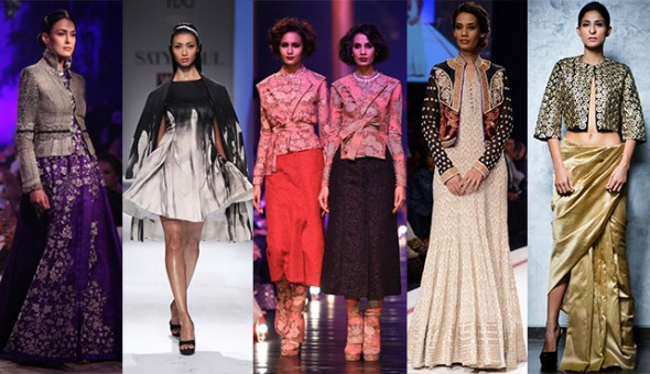 Indian Ethnic Jackets on the Runway