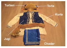 Bhangra attire (Image: bioak.org)