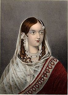 A Portrait of Begum Hazrat Mahal (Image: https://en.wikipedia.org)