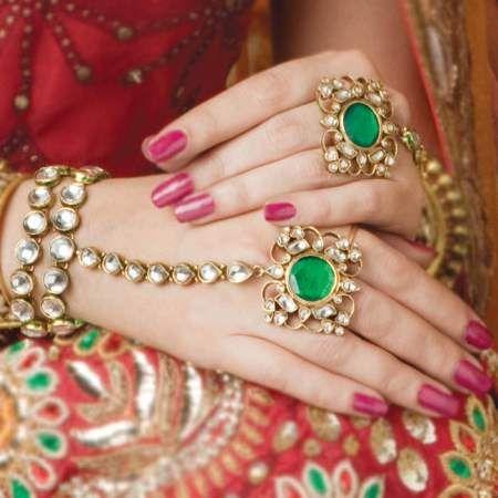 Haath Phool or Hand Bracelet