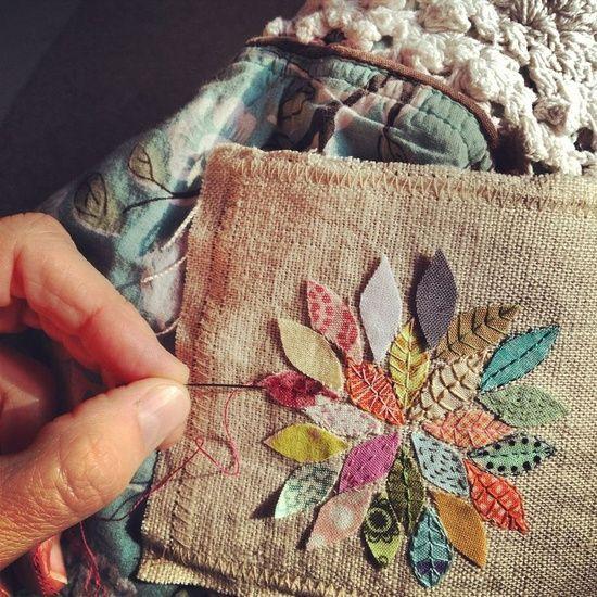 Floral Applique Patterns (Image: http://bluebirdchic.com)