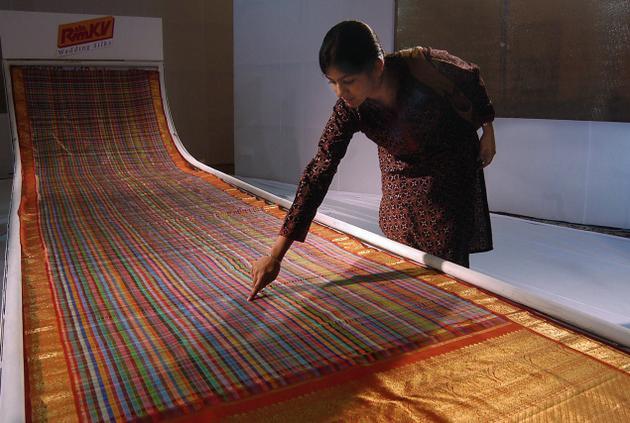 Kanchipuram Silk: All About Kanchipuram Silk & Its Background ...