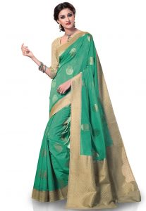 Woven Kanchipuram Silk Saree