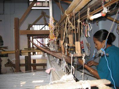 Weaving of Pat Silk (Image Courtesy: Ixigo)