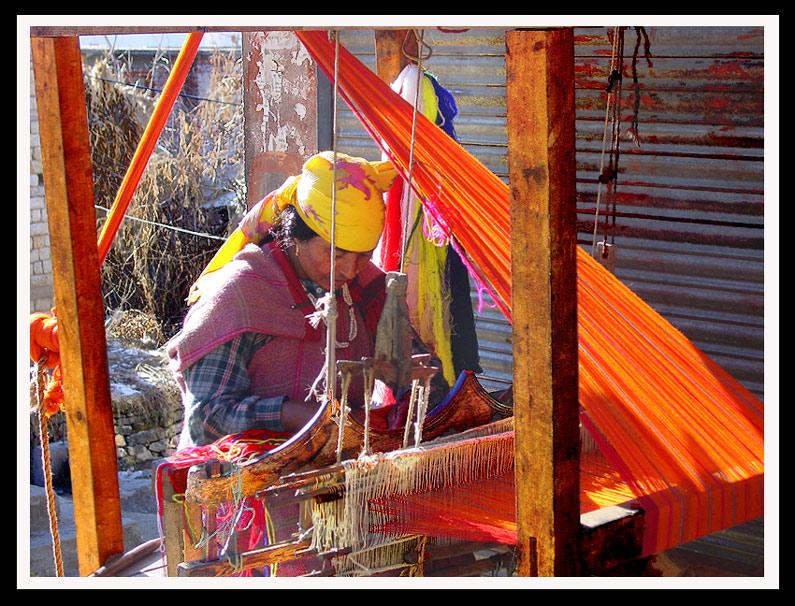 Weaver in Himachal Pradesh