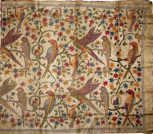 Kantha Embroidery Popular Style Of Embroidery Utsavpedia