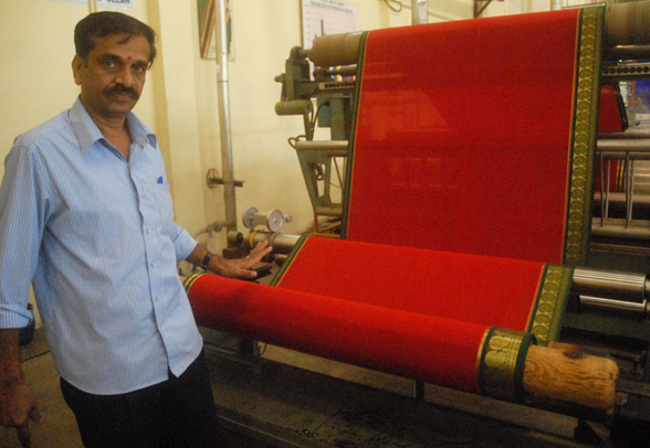 Mysore Crepe Fabric