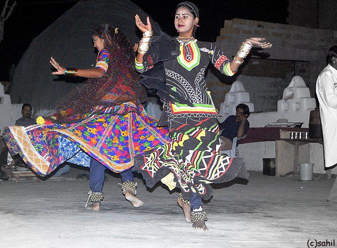 Rajasthan Traditional Dress during a Folk Dance Performance