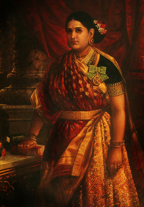 Maharani Style Or Gujarati Style Drape