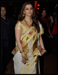 Aishwarya in Pochampally Saree
