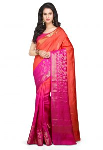 Pure Muga Silk Saree