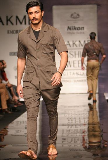 Indian Safari Suit (Image Courtesy: Fashionably Desi)