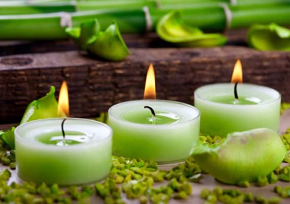 Eco-friendly candles. (Image: Images.indiatvnews.com)