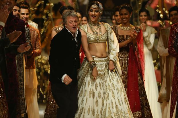 Rohit Bal After Showcasing a Collection