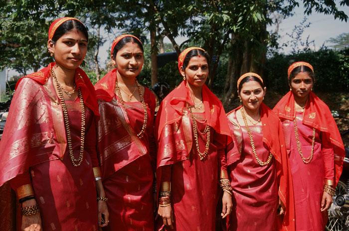 Coorgi Saree or Kodagu Style Saree