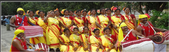 Traditional Wear From Jharkhand