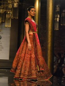 Lehenga Choli By JJ Valaya (Source: Pinterest)