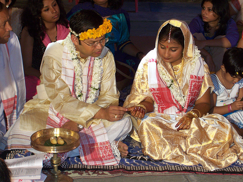 Assamese Wedding Ritual
