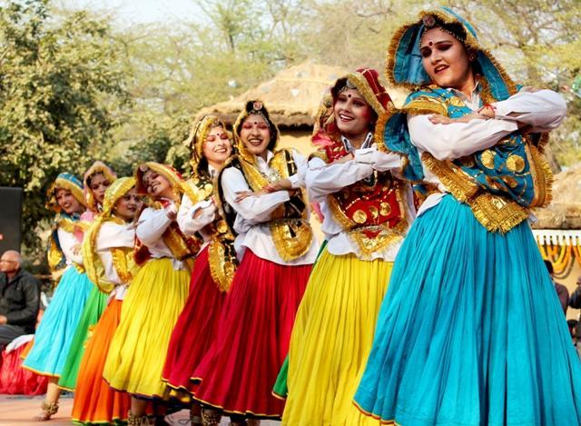 Haryanvi Traditional Folk Dance Dress