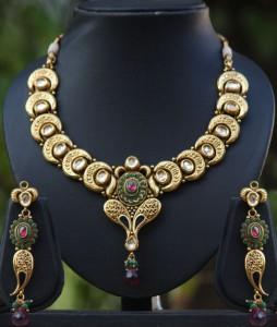 Kundan Meenakari Necklace