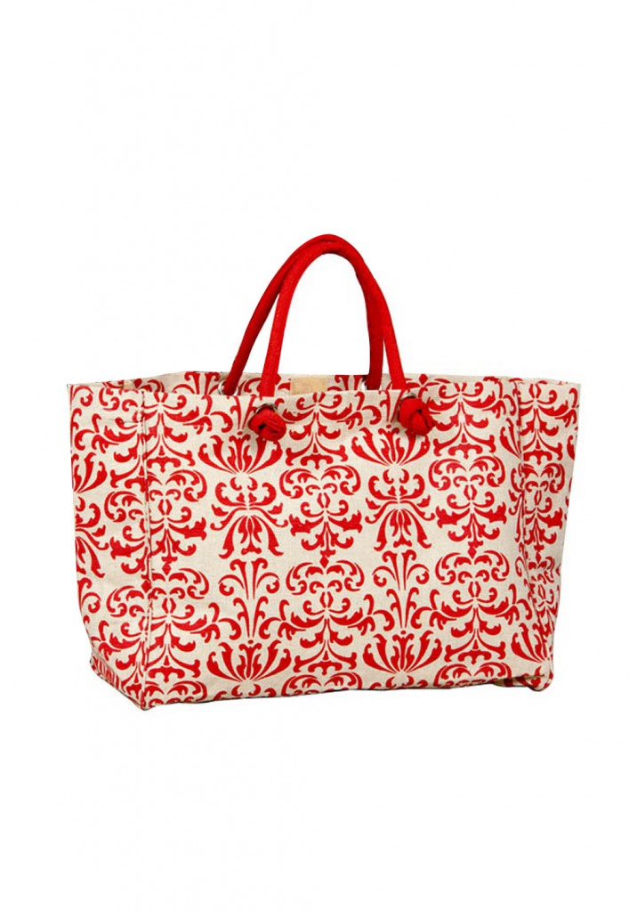 Printed Jute Bag from Utsav Fashion