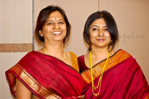 Iyer Style and Iyenger Style Pallu