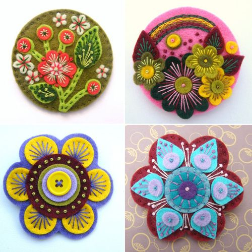 Hand - made Brooches