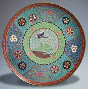 Cloisonne Art Work