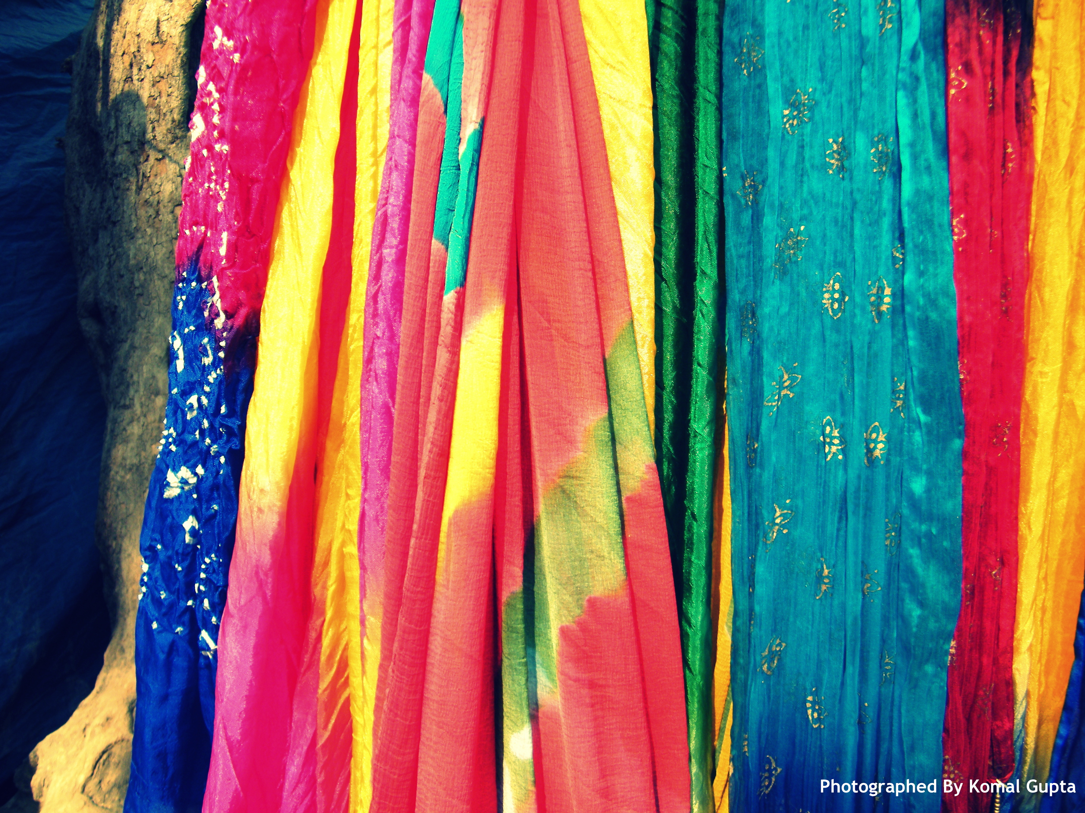 Stopover for Colorful Dupattas
