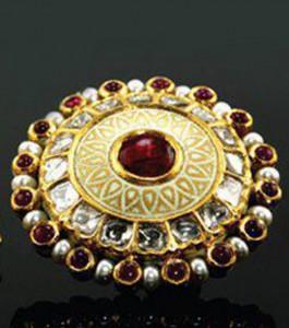 Jadau Work Ring