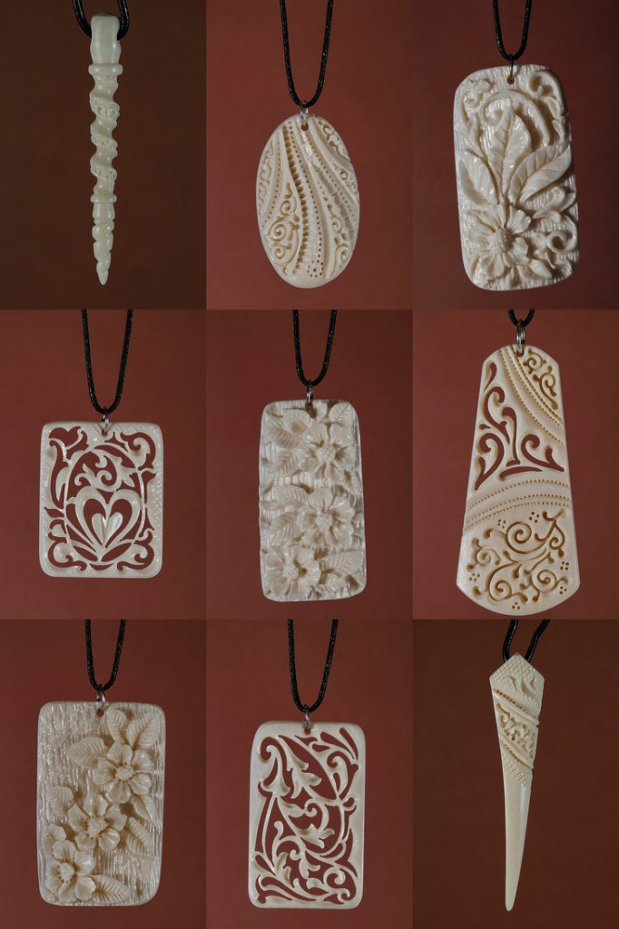 Bone Pendants