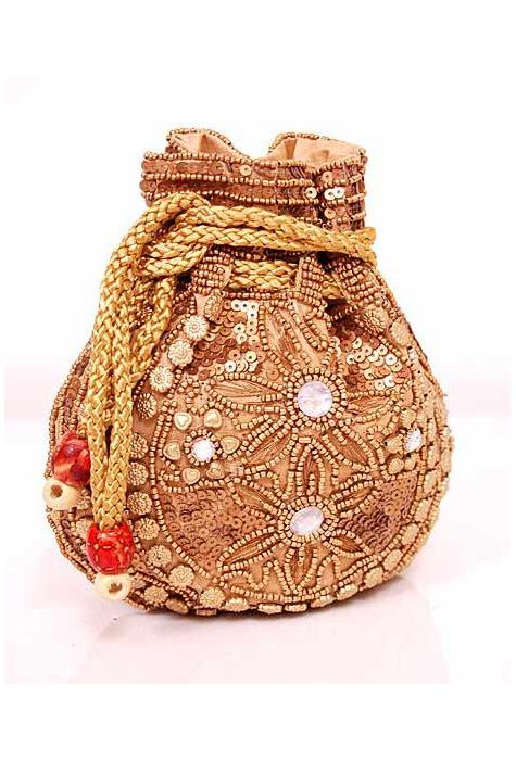 Traditional Embellished Potli Bag