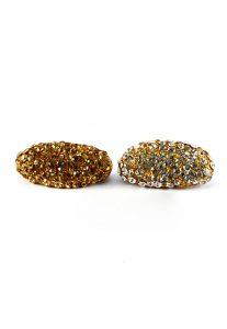 Stone Studded Saree Pin Combo