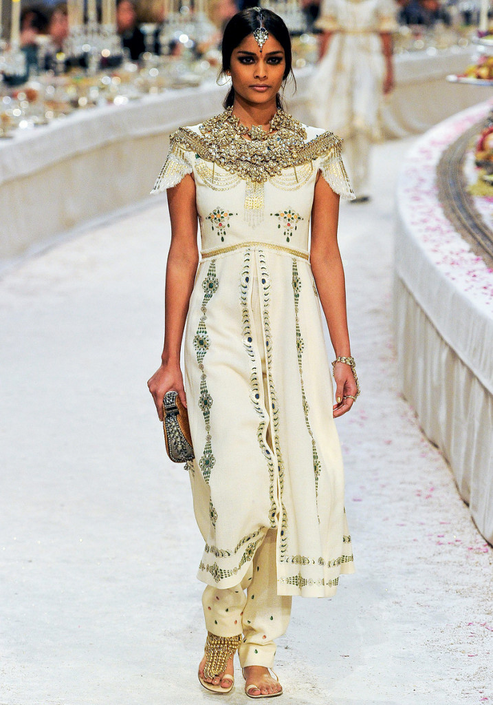 International Label Chanel's Take on Salwar Suits (Image: http://exshoesme.com)