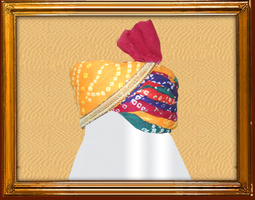 Panchrangi Turban