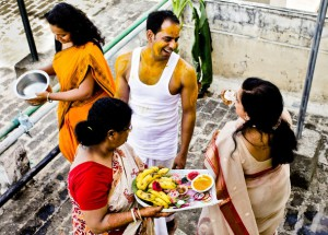 Haldi Ceremony in Bengali Wedding