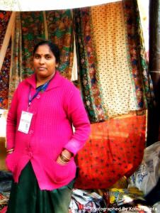 Kalamkari Artist Kalavati from Andhra Pradesh
